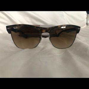 Ray-Ban Accessories - Ray Ban Clubmaster Oversized; polarized tortoise